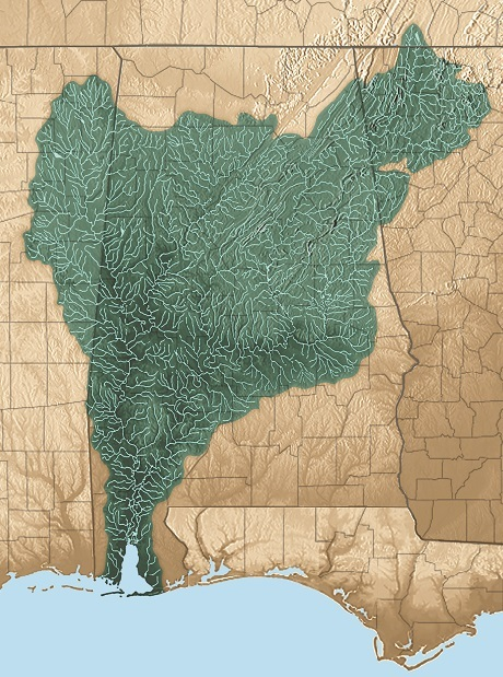 Mobile Bay Watershed cropped