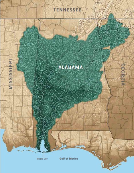 Mobile Bay Watershed