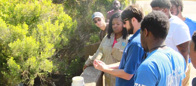 Alabama Conservation Corps Members Receive Training on Water Quality Monitoring