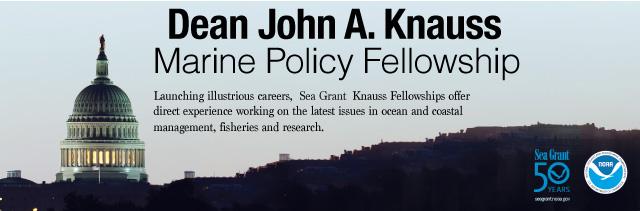Dean John A. Knauss - Marine Policy Fellowship