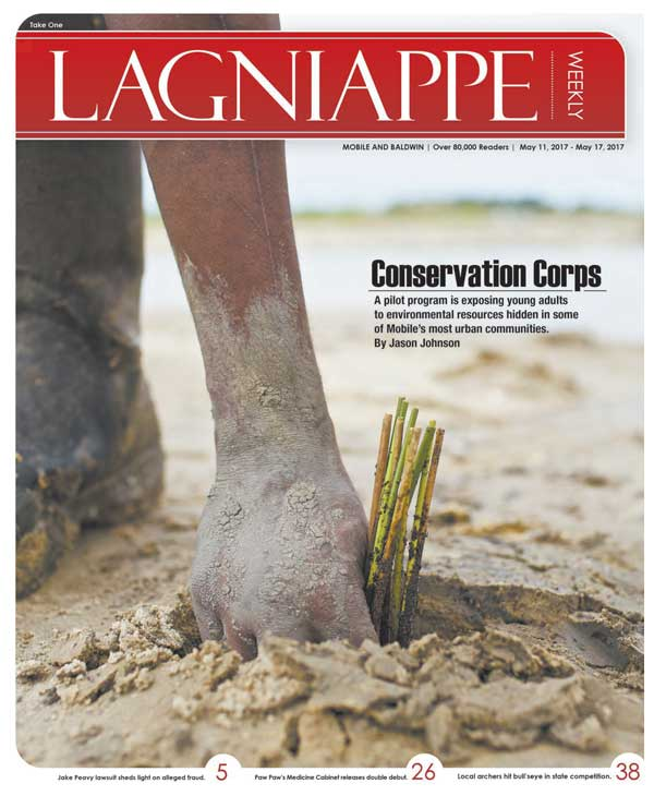 Lagniappe Weekly: Conservation Corps - A pilot program is exposing young adults to environmental resources hidden in some of Mobile's most urban communities