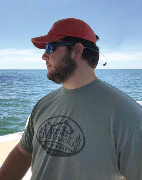 Gage Swann - Management Student, Oyster Grower