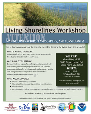 Living Shorelines Flyer