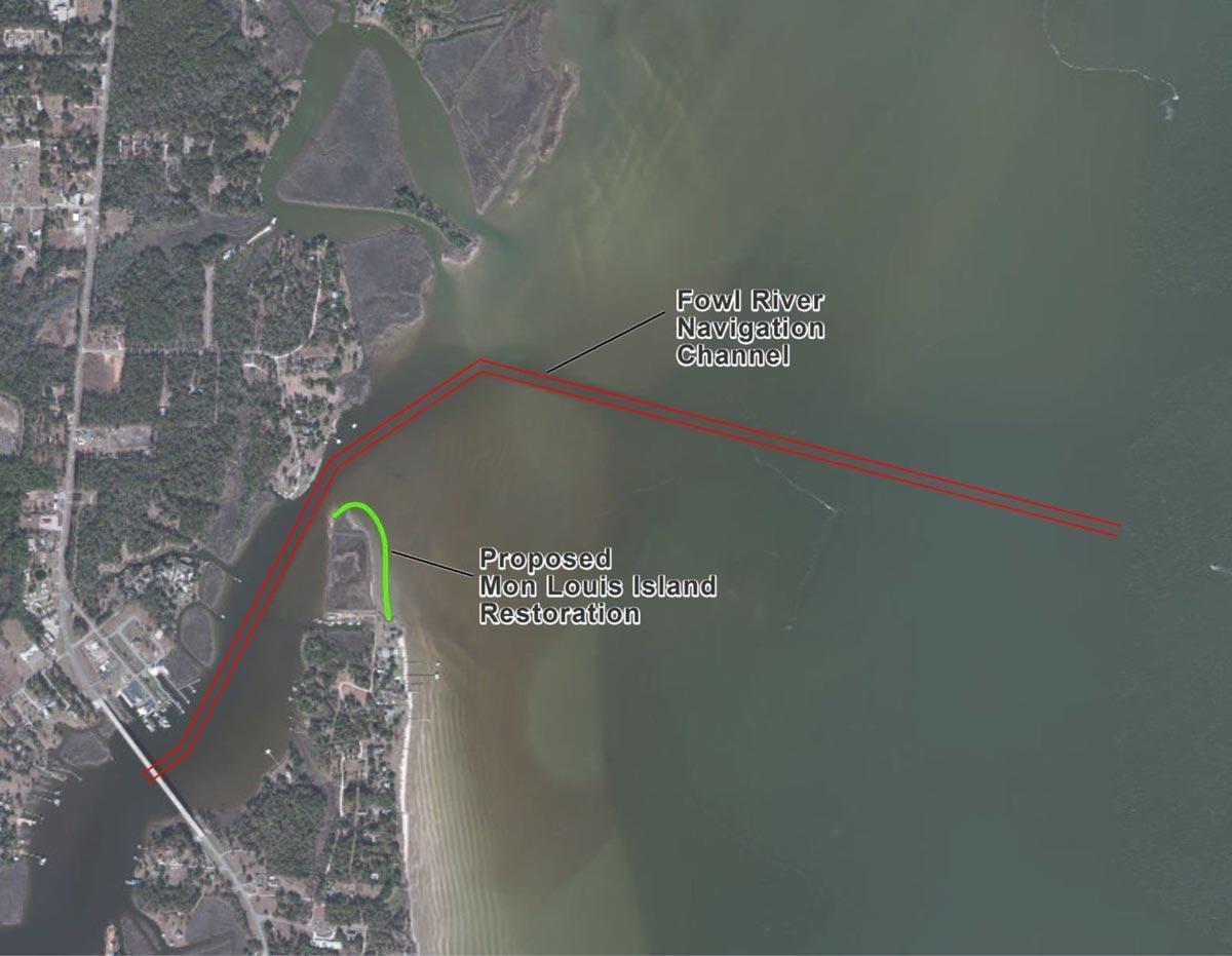 Mon Louis Island Tip Restoration Plan